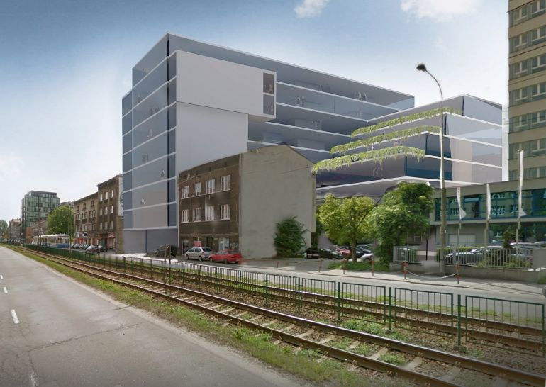 Chopin Office in Cracow - planned investment of Warimpex