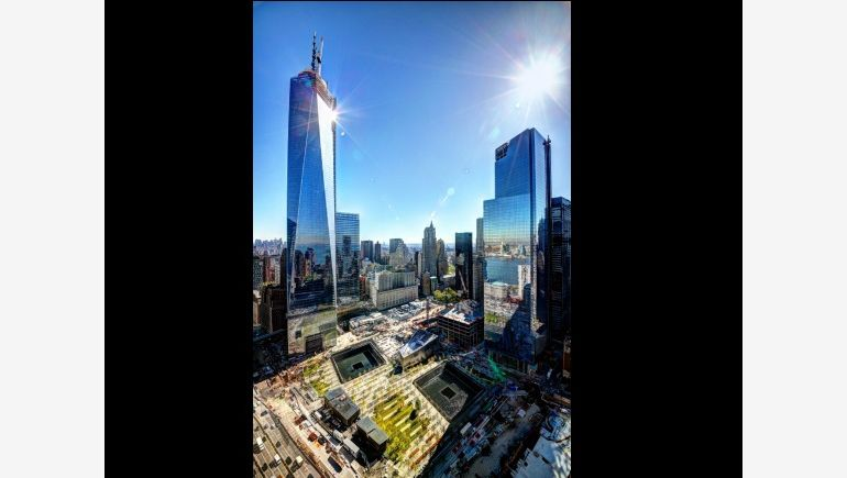Nowe World Trade Center na Manhattanie