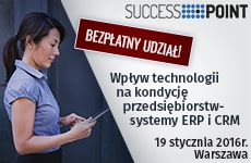 Impact of technologies on condition of businesses – ERP and CRM systems