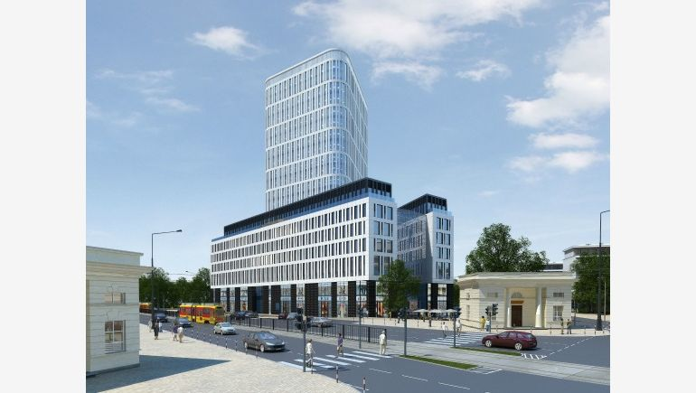 Multifunctional Plac Unii complex in Warsaw