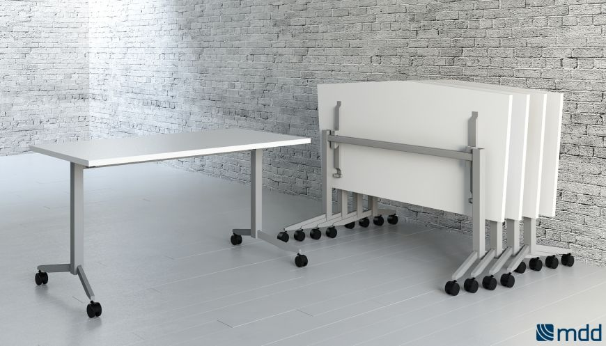- Example of mobile office furniture, pic MDD