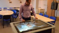 Will the interactive table conquer offices?