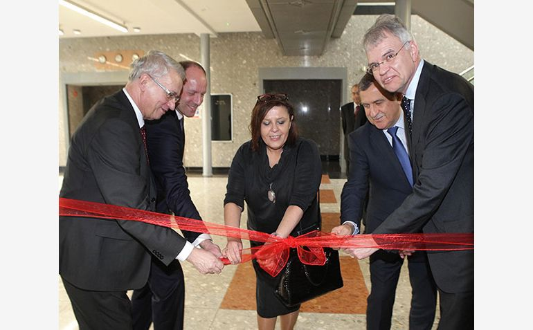 The official opening of the General Motors Shared Services Center in Tychy, pic GM Company