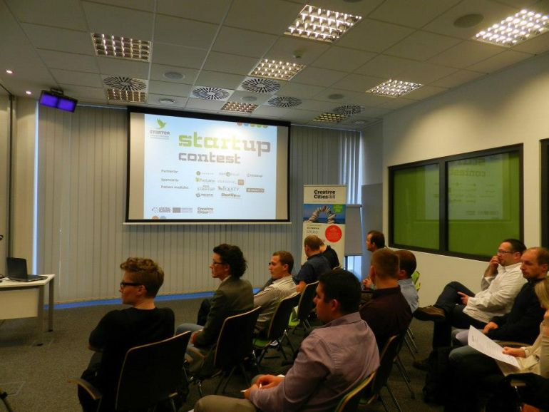 The startups chosen in the contest have been preparing for the finals under the guidance of experts