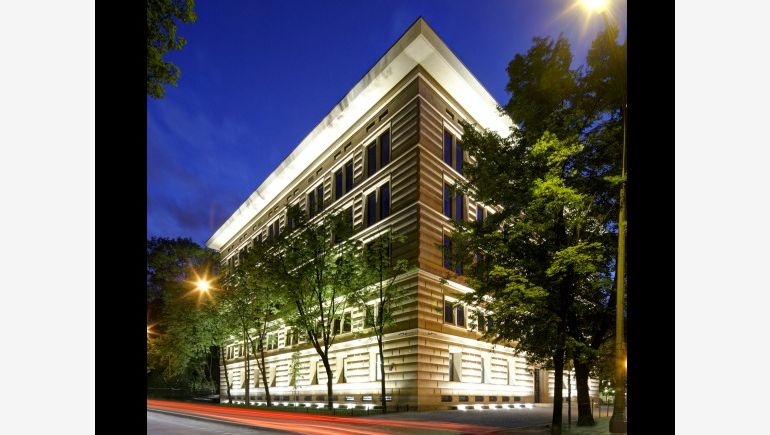 The office building Ufficio Primo in Warsaw