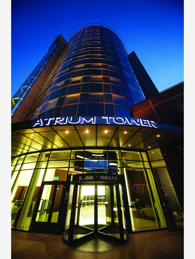 Atrium Tower in Warsaw