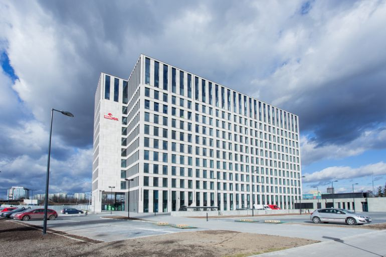 First building of Opolska Business Park