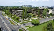 Office complex surrounded by greenery will be built in Dolny Mokotów