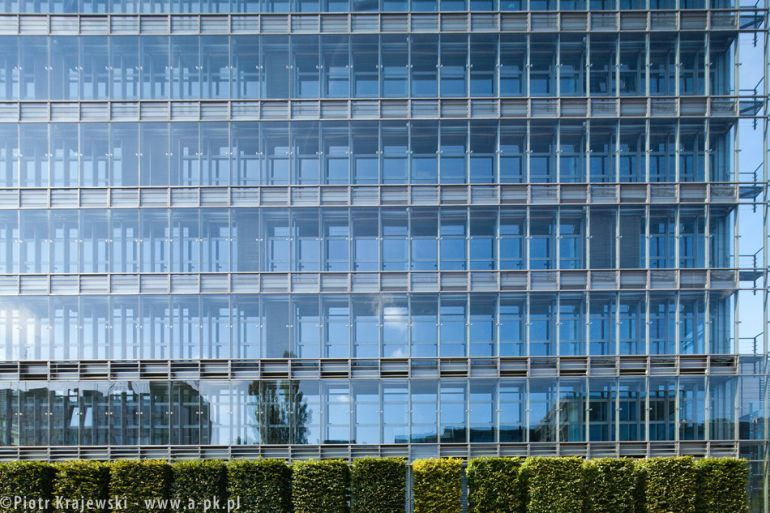 A facade in the Victoria office owned by IVG Institutional Funds, pic Piotr Krajewski
