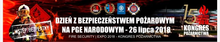 Kongres Pożarnictwa FIRE | SECURITY EXPO 2018