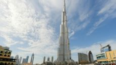 Plans to build the highest office building in the world in Dubai