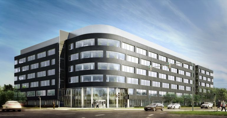 West Gate - investment which is being realized by Echo Investment in Wrocław