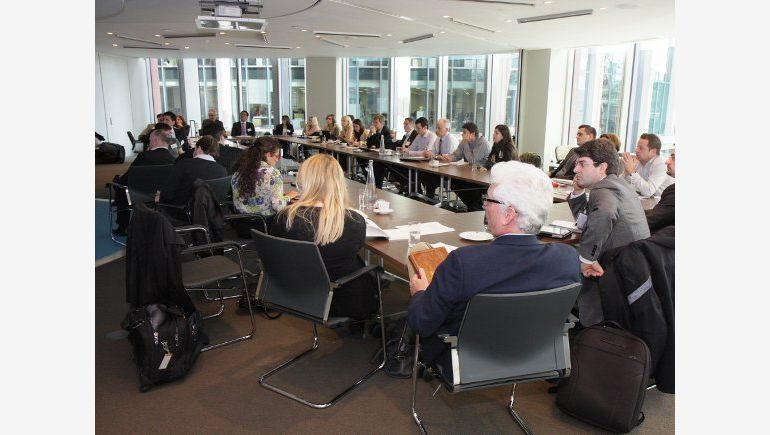 On the photo:  WorldGBC Europe Regional Network Meeting in London