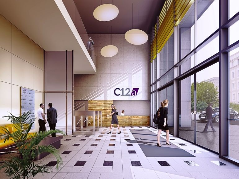C12A in Warsaw - visualization of the interior