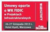 Deals working on WK FIDIC in Infrastructure Projects