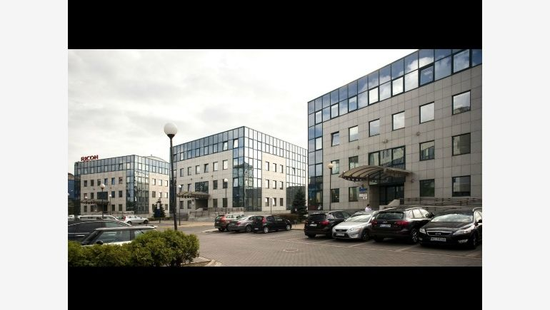 Jerozolimskie Business Park in Warsaw owned by Ares Management, visualization IVG