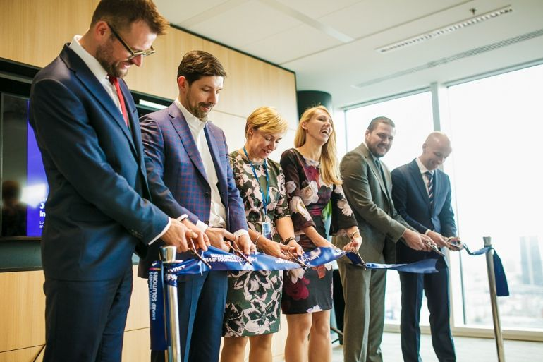 New office of Luxoft - opening ceremony (pic kreatyw-media), source: press materials by Luxoft