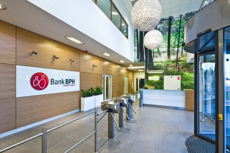 The new premises of BPH Bank in Gdańsk