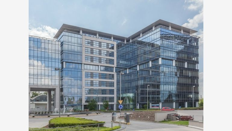 The Marynarska Business Park complex in Warsaw