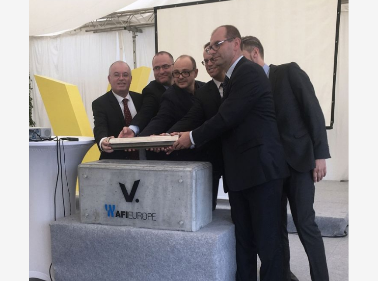 V.Offices - Cornerstone Laying Ceremony