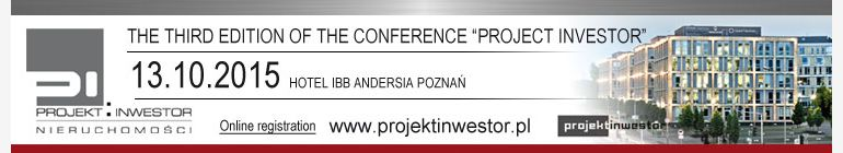 "The third edition of the conference ""PROJECT INVESTOR"""