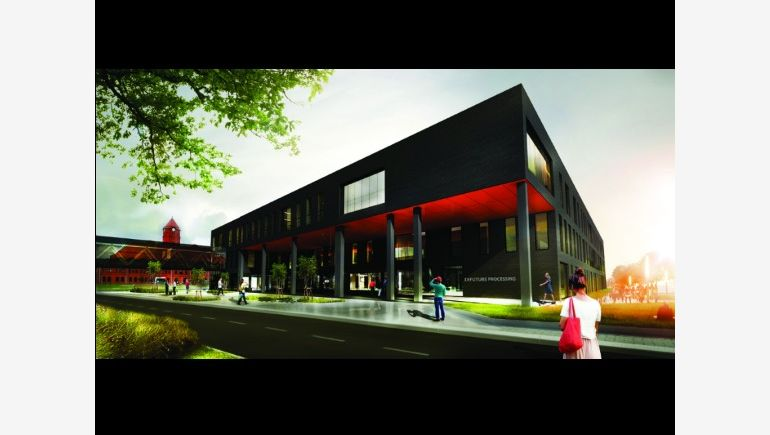 Visualisation of the office building Future Four  in Nowe Gliwice