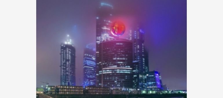 Eye of Sauron over IQ-Kwartał complex, source: thr.ru