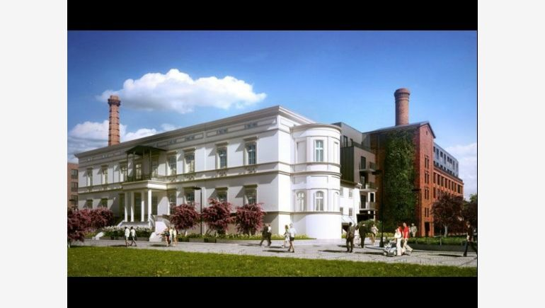 Visualisation of renovated Goetz Palace