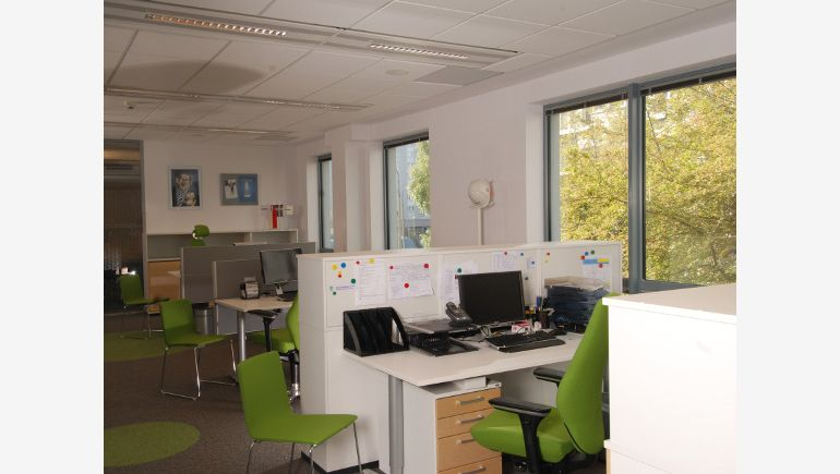 Picture of the green office in Skanska Property Poland