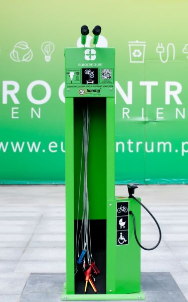 - Eurocentrum has various facilities for cyclists