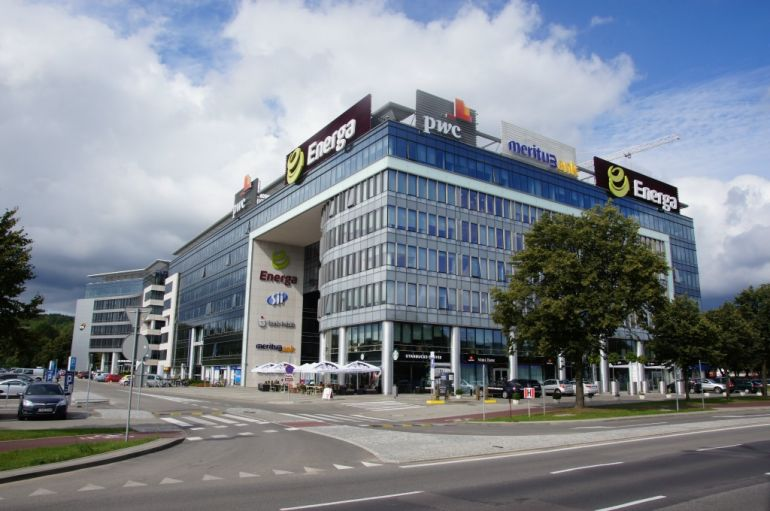 Olivia Business Centre w Gdańsku