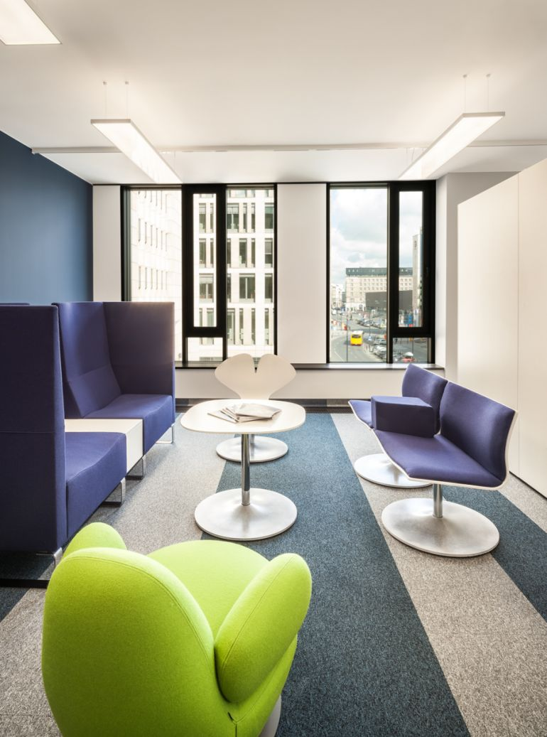 Showroom w budynku ASTORIA Premium Offices  fot. Daniel Ciesielski, ©STRABAG Real Estate Gmbh