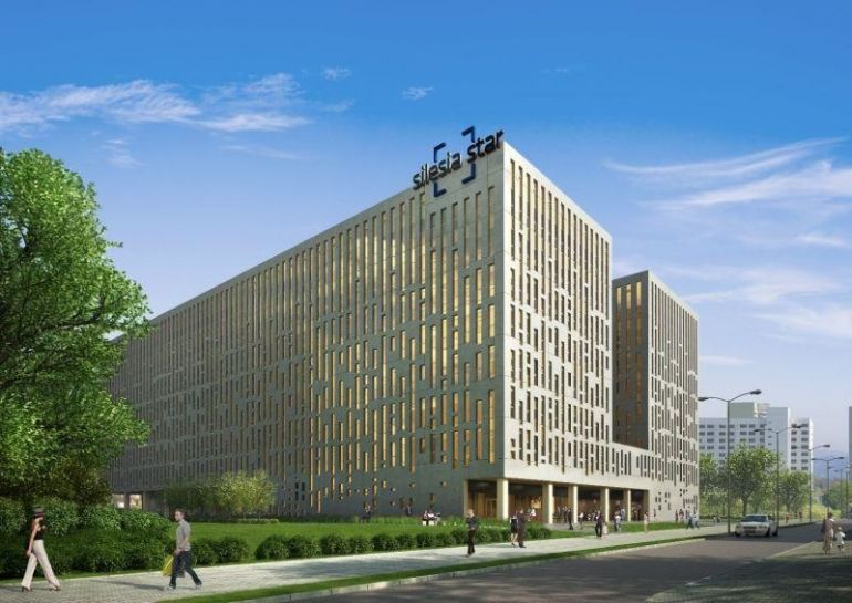 The office and retail complex Silesia Star