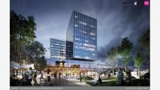 Office investment adjacent to Poznań Główny railway station comes to an end