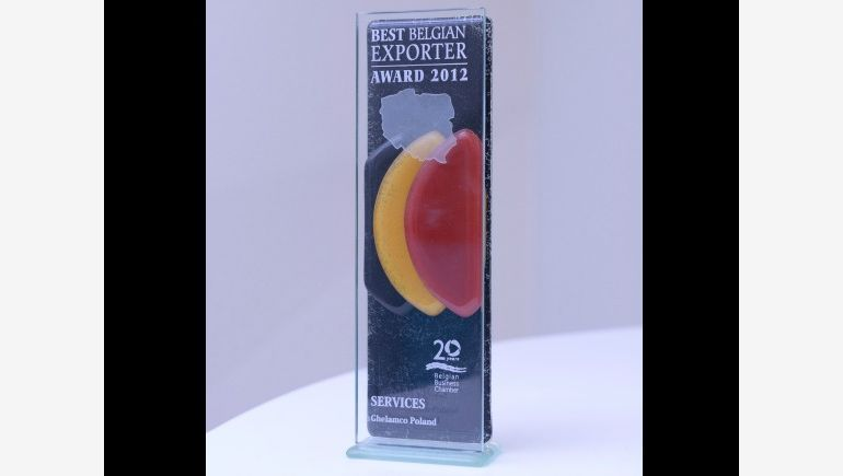 Belgian Business Chamber Award 2012