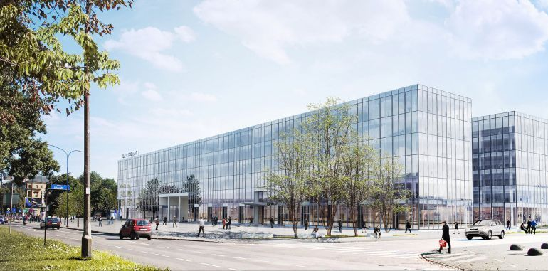 New project of Echo Investment envisages establishment of two office structures in place of Hotel Cracovia