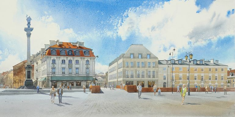 Plac Zamkowy - Business with Heritage