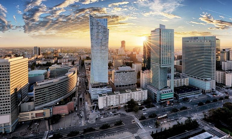 Warsaw office real estate market, pic Walter Herz (press materials)