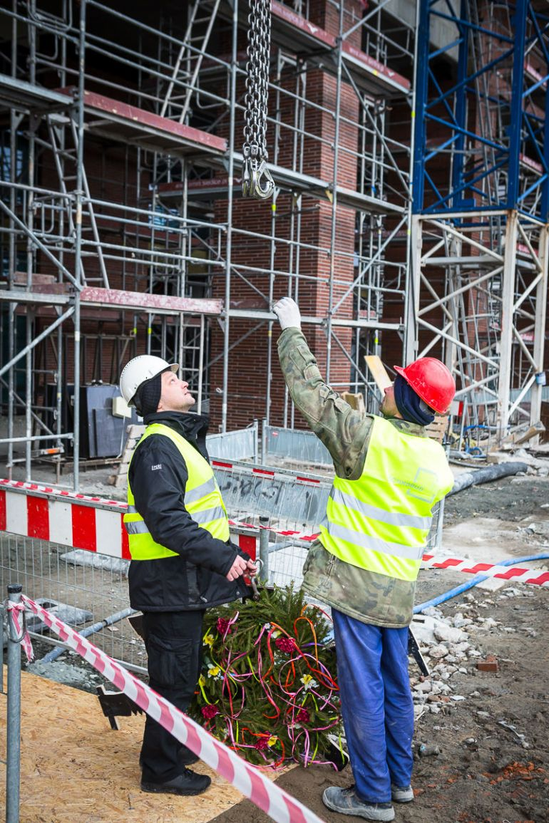 The topping-out ceremony of the second stage of Alchemia was held on 6th March in Gdańsk