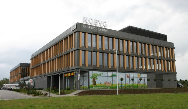 Robyg Business Center in Warsaw