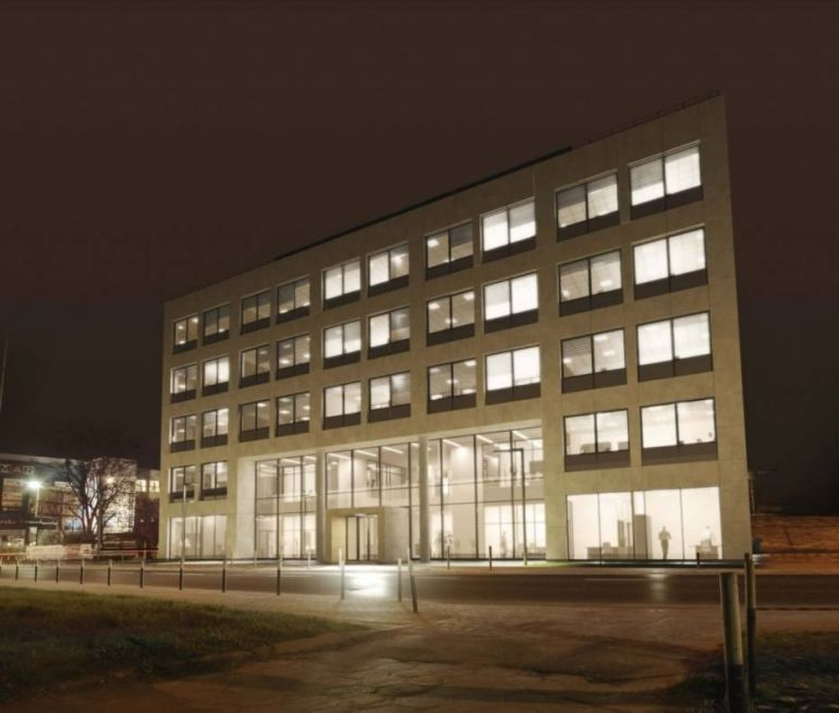 A new office and service building will be realized at Braniborska 38-40 Street in Wrocław