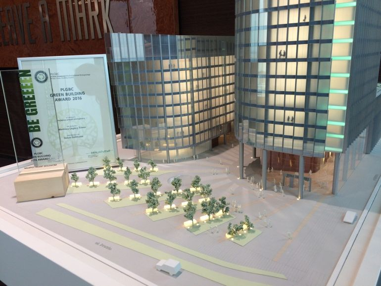 Mennica Legacy Tower was awarded in the competition organized by PLGBC
