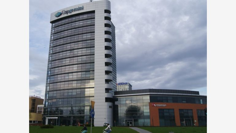 Rondo Business Park in Kraków, where Capgemini leased additional space