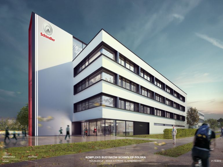 Schindler company will occupy the office building in Służewiec district