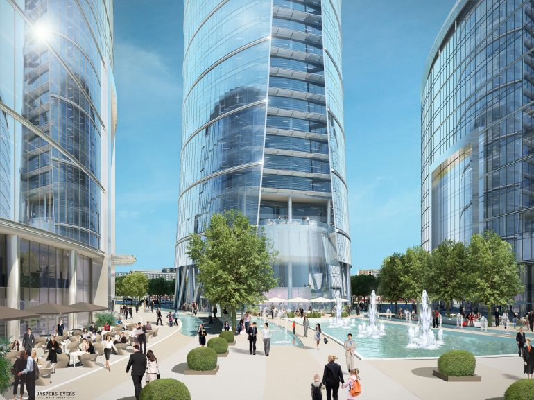 Warsaw Spire will increase the office space in Warsaw by 100 000 m2.