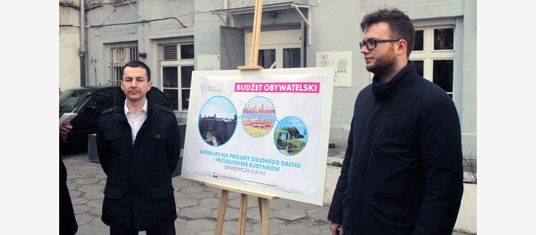 A contest for a revitalization project of post-industrial buildings at Sienkiewicza 61/63 Street in Łódź with realization of green roofs has been announced