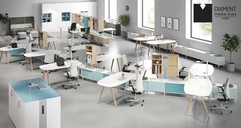 Space Office Furniture Series Awarded in Diamond of Furniture Industry 2018