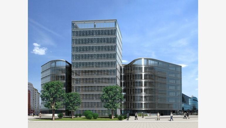 Ambassador Office Building's completion is planned for the end of 2012
